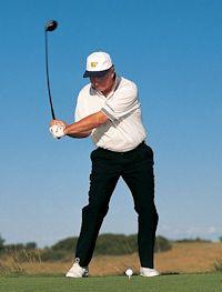 peitscheneffekt beim golfschwung